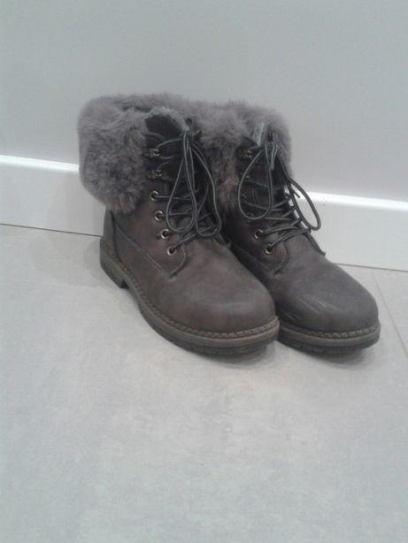 Buty zimowe, ocieplane rozmiar 36