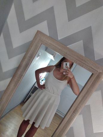 Biała spódniczka estera