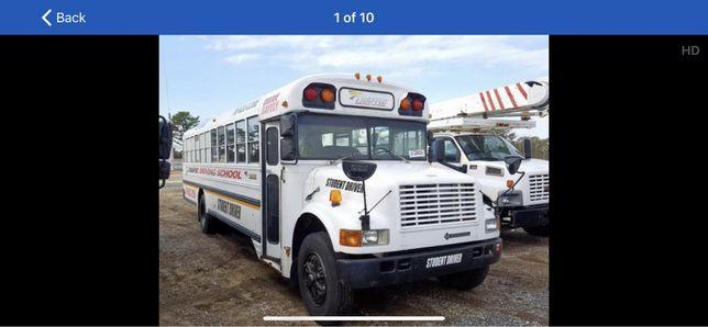 School bus Bar Party camper food truck autobus szkolny