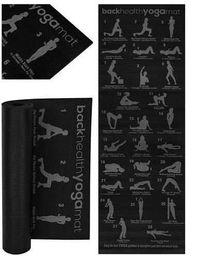 NOWA!! Mata fitness do jogi z planem ćwiczeń