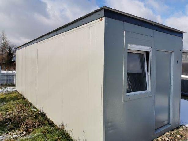 kontener socjalny, mieszkalny Duży 9x3metry