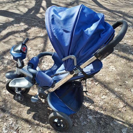 Трехколесный Велосипед  Azimut Crosser T-350 синий