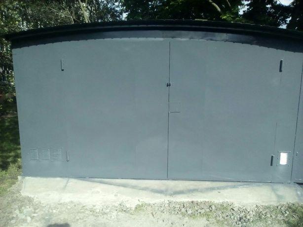 Металлические гаражи под ключ