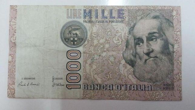 Nota de Mil Liras Italianas de 1982