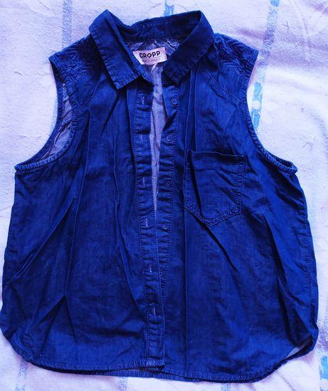 Cropp блуза рубашка женская S