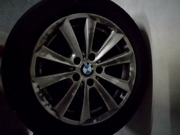 4 Jantes 17 com pneus BMW 520 originais como novas