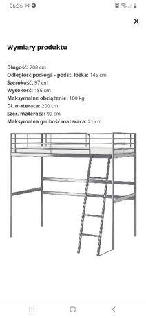 łóżko dwu piętrowe