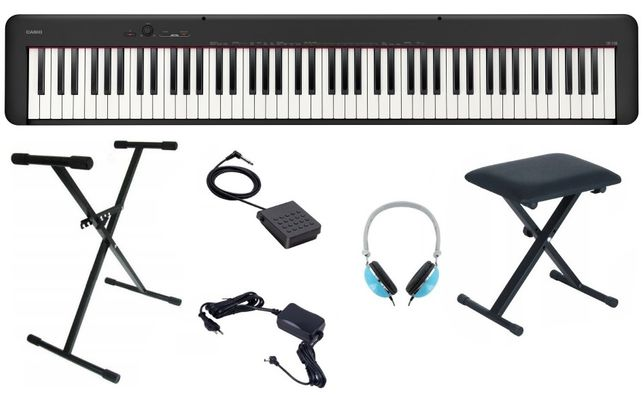 Pianino Casio CDP S100 Zestaw Komplet Ława Statyw