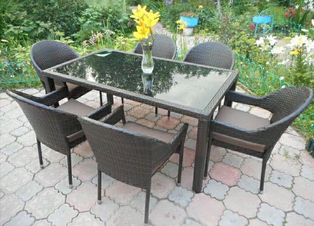 Садовая мебель для дачи или дома на 6 человек