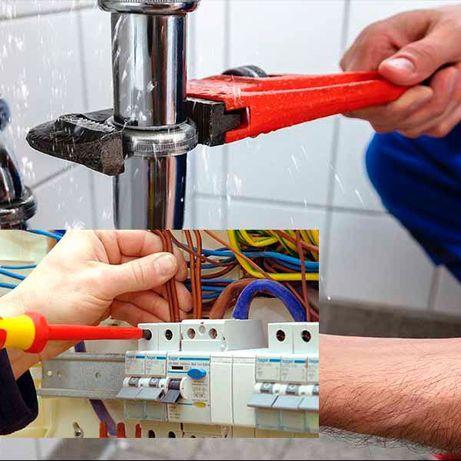 Eletricista e canalizador 24/24