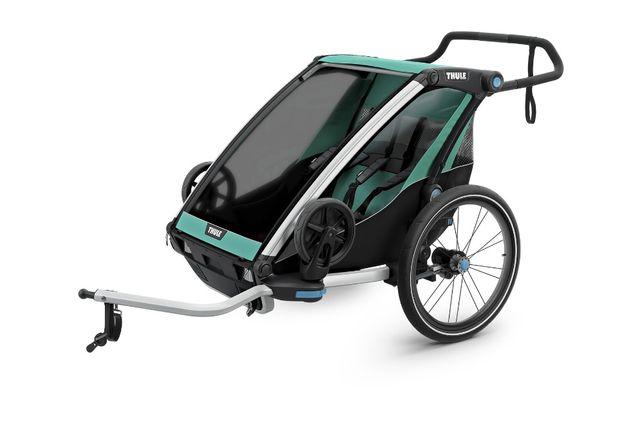 Przyczepka rowerowa Thule Chariot Lite 2 morski/czarny- wysylka gratis