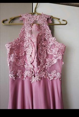 Długa sukienka :