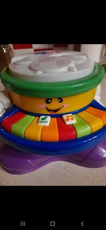 Музыкальная развивающая игрушка весёлое пианино с песнями мелодиями...