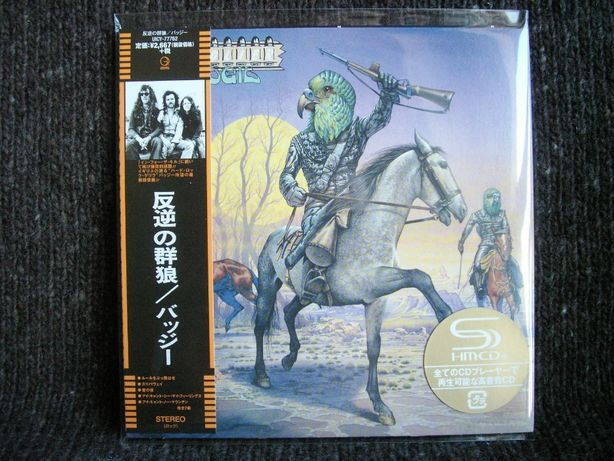 BUDGIE Bandolier - Cardboard Sleeve SHM CD Japan mini LP CD