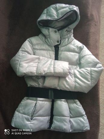 Теплая зимняя куртка Zara