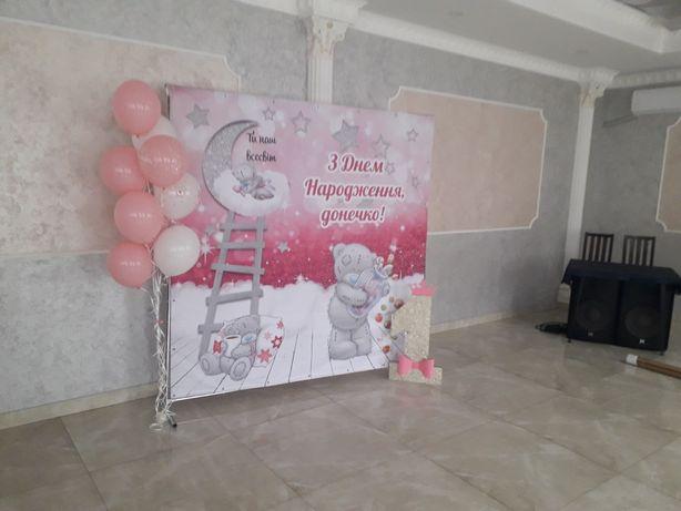 ПРОКАТ!!!Банер для дівчинки