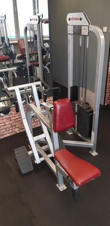 Maszyna na plecy PRZYCIĄGANIE z zaparciem klatki Life Fitness