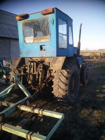 Продам саморобний трактор МТЗ з документами.