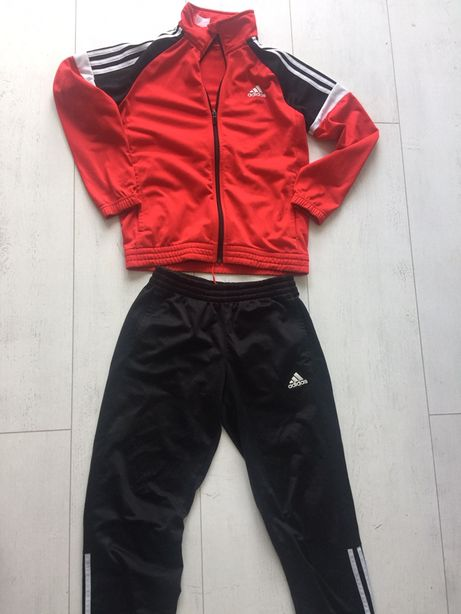 Adidas dres komplet jak nowy na 11-12 lat