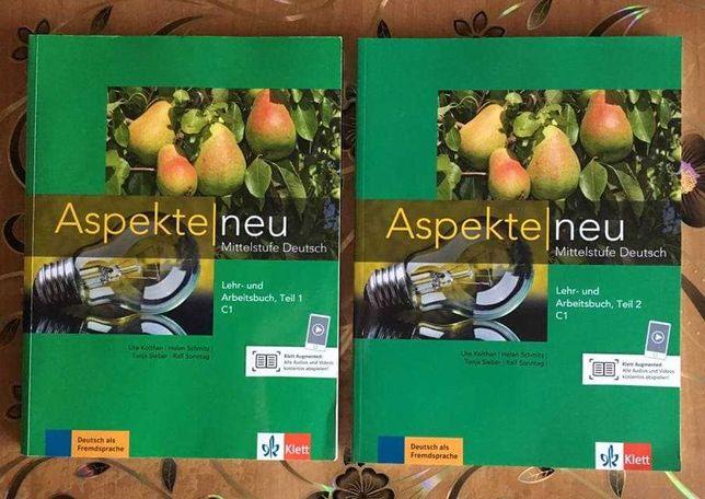 Aspekte Neu C1, Lehr- und Arbeitsbuch, Teil 1 + Teil 2, CD