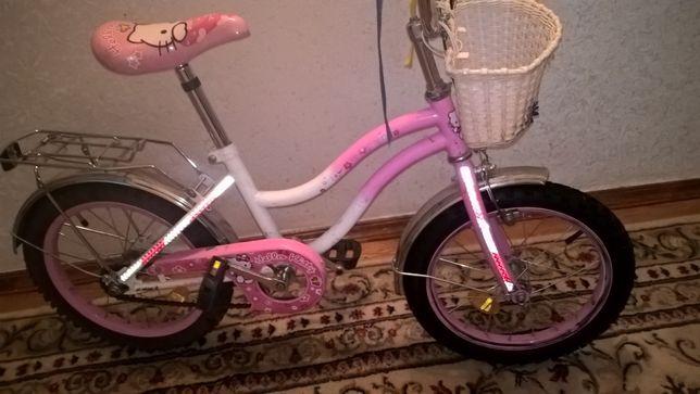 Детский велосипед на 5-8 лет б/у