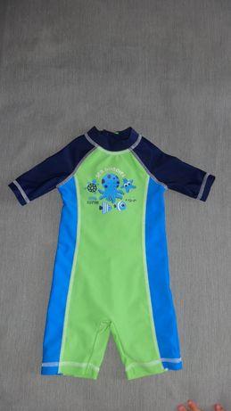 Солнцезащитный костюм сдельный купальник на мальчика 3-6 мес