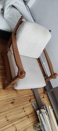 fotel drewniany mieszko 2szt.