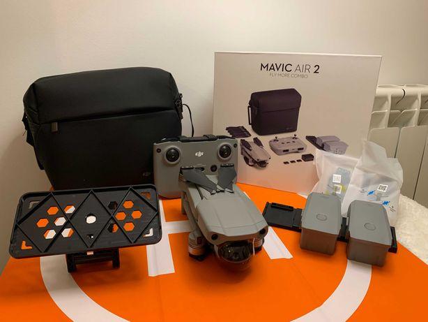 Drone DJI Mavic Air 2 Combo (Fly More)