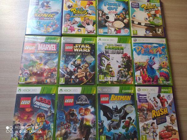 Gry X-Box 360 sporo tytułów do wyboru