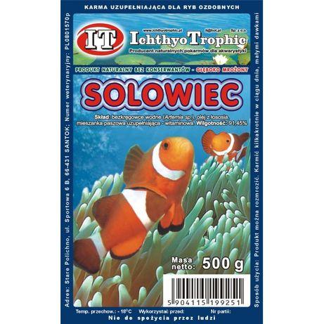 Solowiec /Artemia mrożona   w blistrze 100g 30 porcji.