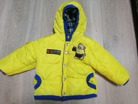 Демисизоная куртка для малышей на 1 годик