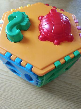 Большой сортер - куб