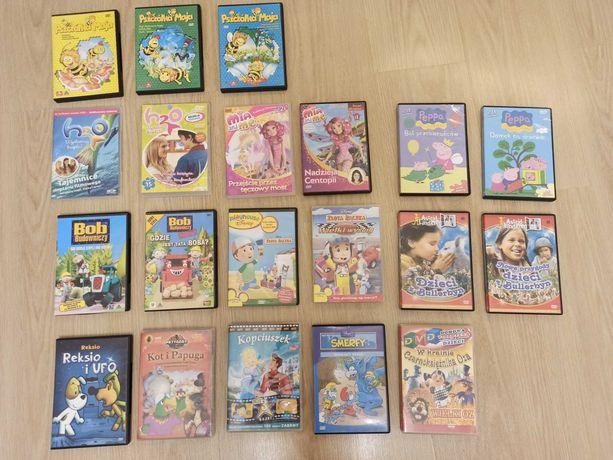 Bajki i filmy na płytach DVD i CD