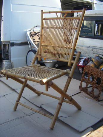 Banbus , Krzeslo z Bambusa skladane , stan bdb