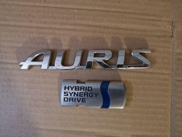 Emblemat / znaczek Hybrid Synergy Drive oryginał Toyota