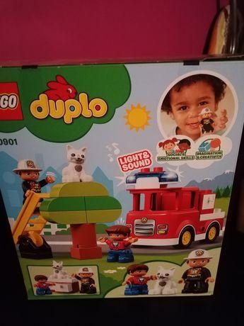 Lego duplo 10901 straż pożarna