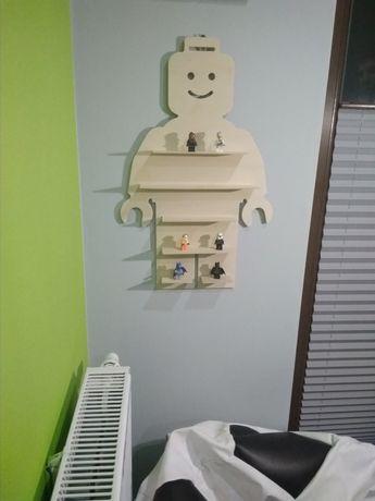 Półka na klocki, małe zabawki, np. LEGO