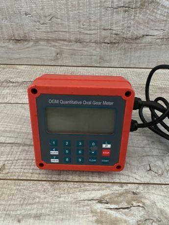 Счетчик электронный для учета топлива, бензина, воды 220в