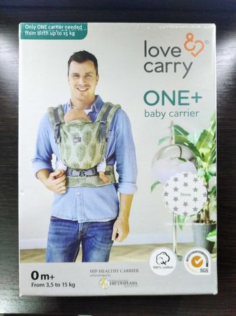 Эрго-рюкзак Love & Carry ONE+ с рождения