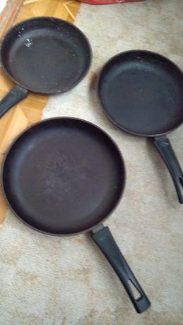Сковородки алюминиевые
