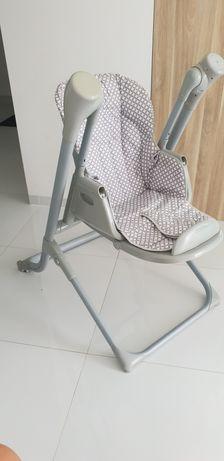 Krzesełko do karmienia z funkcja huśtawki SUN BABY