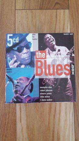 The Blues Box Set 5 CD z 1999 r. wyjątkowe dla kolekcjonera