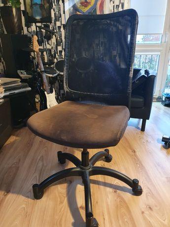 Krzeslo obrotowe skóra IKEA