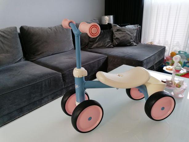 Rowerek biegowy czterokołowy smoby