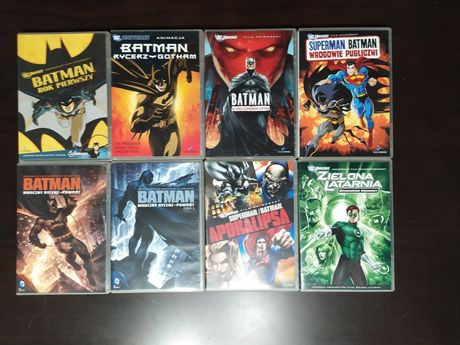 Batman filmy animowane rok pierwszy i inne