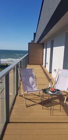 BONY turystyczne apartamentu   6 os. z WIDOKIEM na morze AURA DELUX