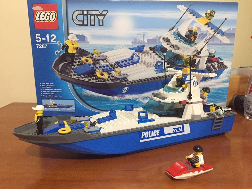 Lego city Barco da Policia e Mota de Água de Ladrão NOVOS,Edição limit
