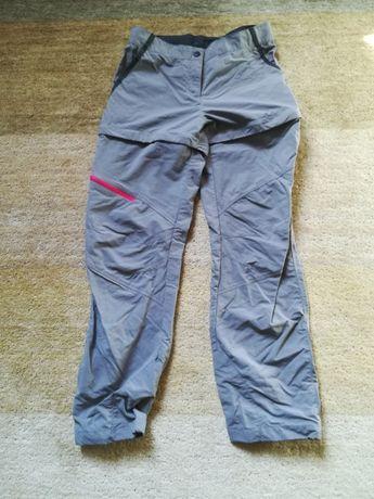 spodnie trekkingowe dziewczęce rozm. 150-160 cm