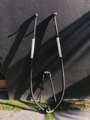 Retranca Windsurf | Nautix | S Carbon | 174-220cm | Como Nova