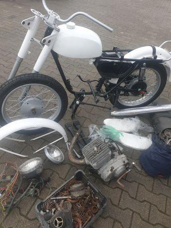 Romet minsk 125 motocykl prl  zarejestrowany ubezpieczony